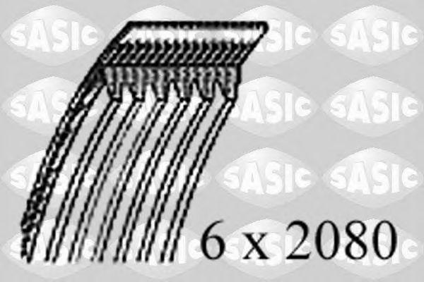 Поликлиновой ремень SASIC 1776110