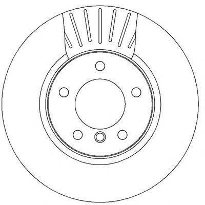 Тормозной диск BENDIX 562320BC