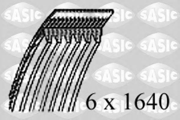 Поликлиновой ремень SASIC 1774050