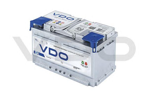 Стартерная аккумуляторная батарея; Стартерная аккумуляторная батарея VDO A2C59520005D