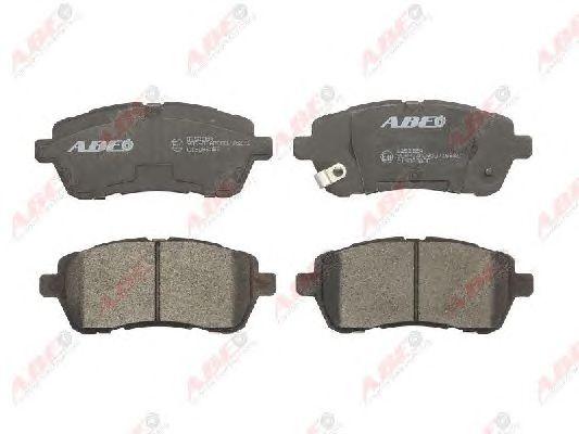 Комплект тормозных колодок, дисковый тормоз ABE C13063ABE