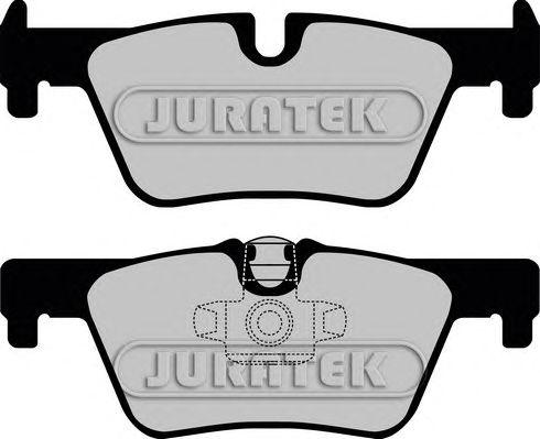Комплект тормозных колодок, дисковый тормоз JURATEK JCP8013