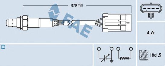 Лямбда-зонд FAE 77194