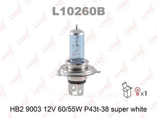 Лампа накаливания, фара дальнего света; Лампа накаливания, основная фара LYNXauto L10260B