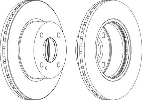 Тормозной диск FERODO DDF1740-1