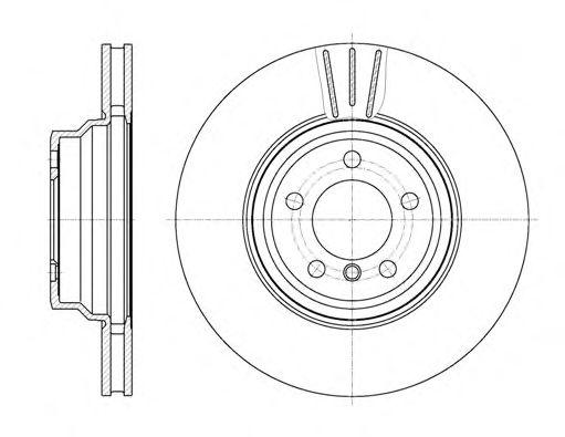 Тормозной диск REMSA 61078.10