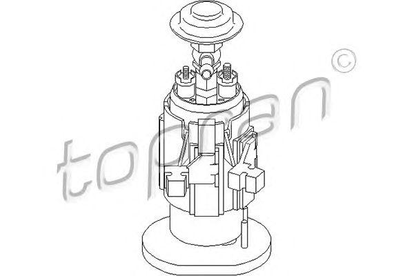 Топливный насос TOPRAN 500 815