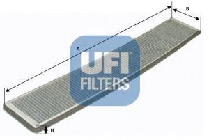 Фильтр, воздух во внутренном пространстве UFI 54.121.00