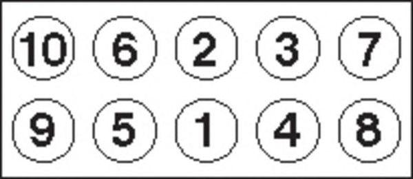 Комплект болтов головки цилидра PAYEN HBS054