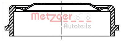 Тормозной барабан METZGER BT 1064