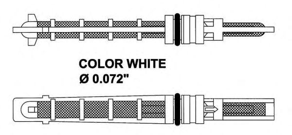 Расширительный клапан, кондиционер NRF 38211