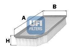 Воздушный фильтр UFI 30.251.00