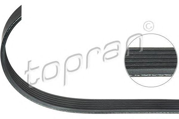 Поликлиновой ремень TOPRAN 109 658