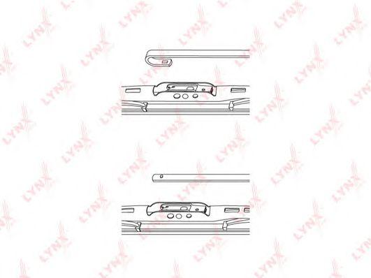 Щетка стеклоочистителя LYNXauto 480L