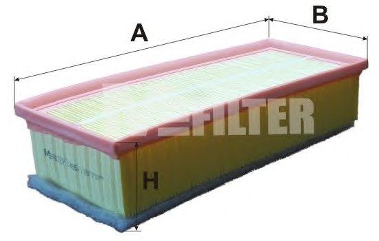 Воздушный фильтр MFILTER K 495/1