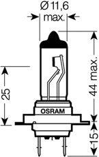 Лампа накаливания, фара дальнего света; Лампа накаливания, основная фара; Лампа накаливания, противотуманная фара; Лампа накаливания, основная фара; Лампа накаливания, фара дальнего света; Лампа накаливания, противотуманная фара; Лампа накаливания, фара с авт. системой стабилизации; Лампа накаливания, фара с авт. системой стабилизации; Лампа накаливания, фара дневного освещения; Лампа накаливания, фара дневного освещения OSRAM 64210SUP