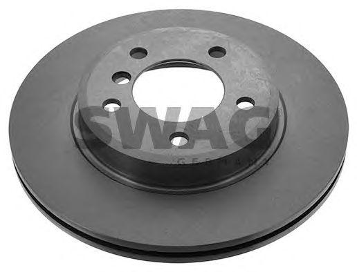 Тормозной диск SWAG 20 91 2323