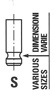 Впускной клапан FRECCIA R6341/SNT
