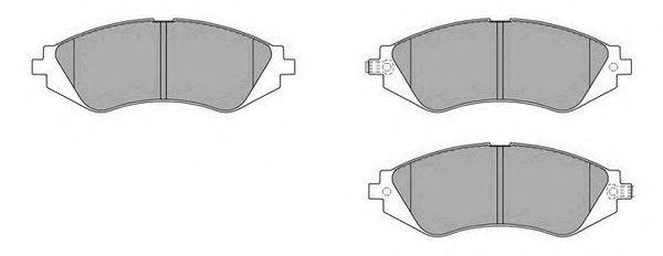 Комплект тормозных колодок, дисковый тормоз FREMAX FBP-1602