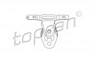 Кронштейн, глушитель TOPRAN 111 600