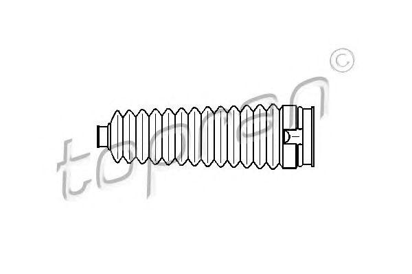 Пыльник, рулевое управление TOPRAN 301 233