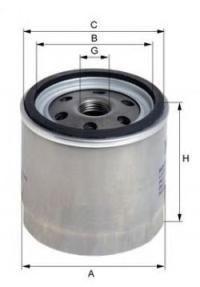 Масляный фильтр UNIFLUX FILTERS XO17