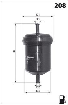 Топливный фильтр Dr!ve+ DP1110.13.0013