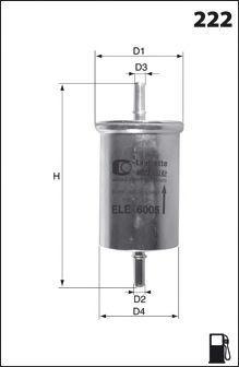 Топливный фильтр LUCAS FILTERS LFPF016