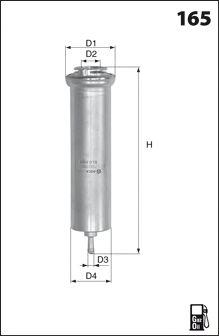 Топливный фильтр MECAFILTER ELG5421