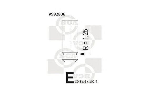 Впускной клапан BGA V992806