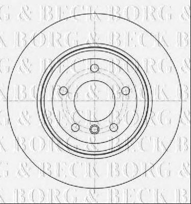 Тормозной диск BORG & BECK BBD5339